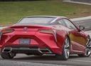 Фото авто Lexus LC 1 поколение, ракурс: 180 цвет: красный