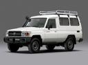 Фото авто Toyota Land Cruiser J70 [3-й рестайлинг], ракурс: 45