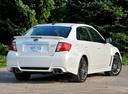 Фото авто Subaru Impreza 3 поколение [рестайлинг], ракурс: 225 цвет: белый