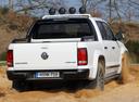 Фото авто Volkswagen Amarok 1 поколение, ракурс: 180 цвет: белый