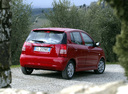 Фото авто Kia Picanto 1 поколение, ракурс: 225 цвет: красный