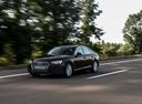 Фото авто Audi A4 B9, ракурс: 45 цвет: черный