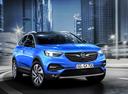 Фото авто Opel Grandland X 1 поколение, ракурс: 315 цвет: синий