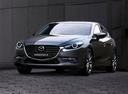 Фото авто Mazda 3 BM [рестайлинг], ракурс: 45 цвет: серый