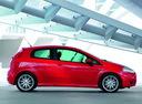 Фото авто Fiat Punto 3 поколение, ракурс: 270 цвет: красный