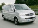 Фото авто Volkswagen Multivan T5, ракурс: 315 цвет: серебряный