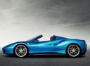 Фото авто Ferrari 488 1 поколение, ракурс: 90 цвет: синий