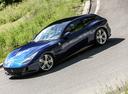 Фото авто Ferrari GTC4Lusso 1 поколение, ракурс: 45 цвет: синий