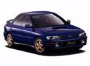 Фото авто Subaru Impreza 1 поколение, ракурс: 315 цвет: синий