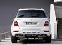 Фото авто Mercedes-Benz M-Класс W164 [рестайлинг], ракурс: 180 цвет: белый