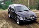 Фото авто BMW X5 E53 [рестайлинг], ракурс: 315 цвет: черный