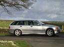 Фото авто BMW 3 серия E36, ракурс: 270 цвет: серебряный