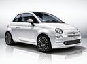 Фото авто Fiat 500 2 поколение [рестайлинг], ракурс: 315 цвет: белый