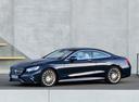 Фото авто Mercedes-Benz S-Класс W222/C217/A217, ракурс: 45 цвет: синий