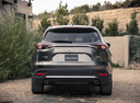 Фото авто Mazda CX-9 2 поколение, ракурс: 180 цвет: серый