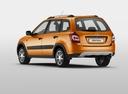 Фото авто ВАЗ (Lada) Kalina 2 поколение, ракурс: 135 цвет: оранжевый