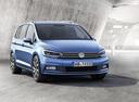 Фото авто Volkswagen Touran 2 поколение, ракурс: 315 - рендер цвет: синий