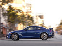 Фото авто Nissan GT-R R35 [2-й рестайлинг], ракурс: 90 цвет: синий