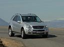 Фото авто Mercedes-Benz M-Класс W164, ракурс: 315 цвет: серебряный