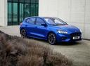 Фото авто Ford Focus 4 поколение, ракурс: 315 цвет: синий