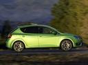 Фото авто SEAT Ibiza 4 поколение [рестайлинг], ракурс: 270 цвет: зеленый