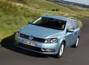 Фото авто Volkswagen Passat B7, ракурс: 45 цвет: серый