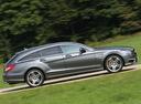Фото авто Mercedes-Benz CLS-Класс C218/X218, ракурс: 270 цвет: серый