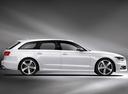 Фото авто Audi S6 C7, ракурс: 270 цвет: белый