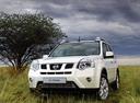Фото авто Nissan X-Trail T31 [рестайлинг], ракурс: 45 цвет: белый