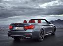 Фото авто BMW M4 F82/F83, ракурс: 225 цвет: серый
