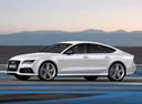 Фото авто Audi RS 7 4G, ракурс: 90 цвет: белый