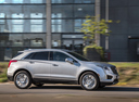 Фото авто Cadillac XT5 1 поколение, ракурс: 270 цвет: серебряный