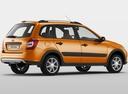 Фото авто ВАЗ (Lada) Kalina 2 поколение, ракурс: 225 цвет: оранжевый