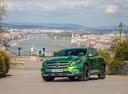 Фото авто Mercedes-Benz GLA-Класс X156 [рестайлинг], ракурс: 45 цвет: зеленый