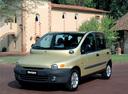 Фото авто Fiat Multipla 1 поколение, ракурс: 45