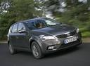 Фото авто Kia Cee'd 1 поколение [рестайлинг], ракурс: 315 цвет: серый