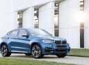 Фото авто BMW X6 F16, ракурс: 315 цвет: голубой