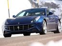 Фото авто Ferrari FF 1 поколение, ракурс: 45 цвет: синий