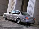 Фото авто Jaguar X-Type 1 поколение, ракурс: 225 цвет: серебряный