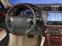 Фото авто Lexus LS 4 поколение [рестайлинг], ракурс: рулевое колесо