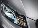 Фото авто Audi Q5 8R, ракурс: передние фары цвет: серебряный