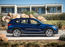 Фото авто BMW X1 F48, ракурс: 270 цвет: синий