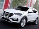 Фото авто Hyundai Santa Fe DM [рестайлинг], ракурс: 45 цвет: белый