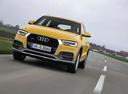 Фото авто Audi Q3 8U [рестайлинг],  цвет: желтый