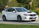 Фото авто Subaru Impreza 3 поколение [рестайлинг], ракурс: 315 цвет: белый
