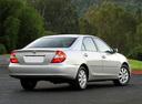 Фото авто Toyota Camry XV30, ракурс: 225 цвет: серебряный