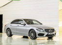 Фото авто Mercedes-Benz C-Класс W205/S205/C205, ракурс: 315 цвет: серебряный