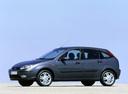 Фото авто Ford Focus 1 поколение [рестайлинг], ракурс: 90 цвет: серый