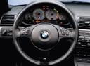 Фото авто BMW M3 E46, ракурс: рулевое колесо