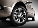 Фото авто Geely Emgrand X7 1 поколение [рестайлинг], ракурс: колесо цвет: зеленый